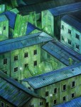 LEGANZA-ILARIA-Labirinti-2-tecnica-mista-su-tela-cm-80x80-2014-1-1