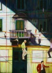LEGANZA-ILARIA-Sui-fili-tecnica-mista-su-tavola-cm-30x30-2010